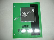 Mack Truck Factory Wheel Bearing Bearings Shop Service Repair Manual 15-701 OEM