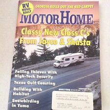 Motor Home Magazine Classy New Class C's Jayco Shasta February 2001 061717nonrh