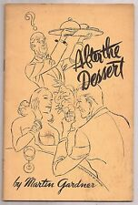 AFTER THE DESSERT by Martin Gardner 1941