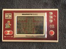 NINTENDO GAME & WATCH ML-102 - MARIO'S CEMENT Fábrica