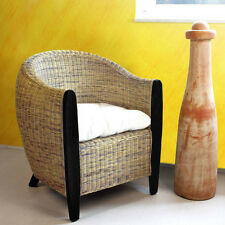 Rattansessel Sessel Korbsessel Rattan Loungesessel Lounge Wohnzimmer bicolor