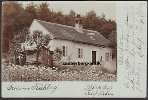 Gruss aus Kühberg bei Gföhl Haus-Ansicht 1900 Bezirk Krems Land