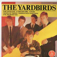 """LES YARDBIRDS - 7"""" album 1984"""