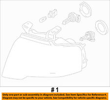 FORD OEM 15-16 Expedition-Headlight Assy FL1Z13008H