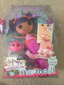 "Sand E Starfish Lalaloopsy Mermaid 12"" Regular Doll Sew Magical Cute Retired"