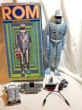 Vintage 1979 Parker Brothers ROM The Space Knight Robot  Complete w/Box Works