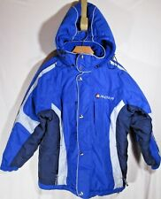 RARE ~ RIDER ~ Ski Snowboard Jacket Coat 14 /16 XL BLUE THINSULATE DETACH HOOD