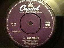 FRANK SINATRA . OL' MAC DONALD . / YOU'LL ALWAYS BE THE ONE I LOVE .