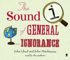 QI THE SOUND OF GENERAL IGNORANCE CD AUDIO BOOK - STEPHEN FRY - NEW UNSEALED