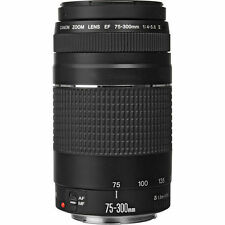 NEW Canon EF 75-300mm f/4-5.6 Mark III Lens for EOS Rebel Cameras - Free Ship