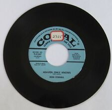 "Don Cornell - DJ/promo 45 - ""Heaven Only Knows"" / ""Life Is A Song"" - VG"
