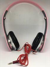 STEREO HEADPHONES DJ STYLE FOLDABLE HEADSET EARPHONE OVER EAR MP3/4 3.5MM PINK