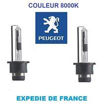 2 AMPOULES XENON PEUGEOT 607 D2R 35W BLANC 8000K 85V NEUF