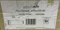 Multifit Baxi Flue Extension 0.25m 241692 *NEW*