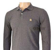 Camicie casual e maglie da uomo grigie in cotone dal Perù