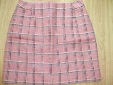BODEN CHECK  BRITISH TWEED BY MOON PLAID SKIRT 14 REG BNWOT