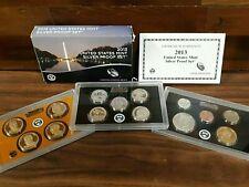 2013 US Mint Silver Proof Set w/ Box & COA *14 Coins*