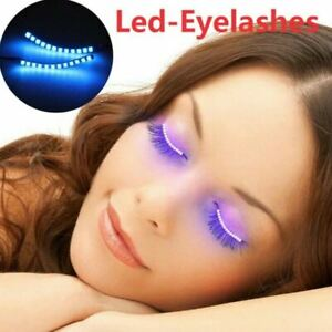 LED Lashes With Acoustic Control