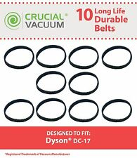 10 Replacements Dyson DC17 Geared Belts 10MM Part # 911710-01 91171001