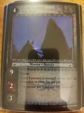 Lord of the Rings TCG Ages End 19P37 Ulaire Lemenya, Dark Enemy FOIL CCG LOTR