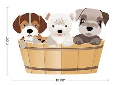 Animal Puppy Dog Kid children Wall Decal Sticker ~0135