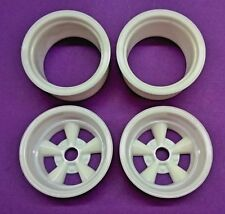 Resin 1/8 Scale American Racing Torq Thrust Style Wheels - Deep Dish