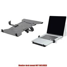 Laptop Notebook Computer Holder Stand Attachment Bracket For Monitor Desk Mount