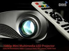 ORIGINAL OHHS Mini LED Projector RD802 + HDMI Cable + 1 Year Warranty + Tripod