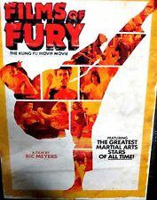 Films of Fury: The Kung-Fu Movie Movie NEW DVD, Ric Meyers, Martial Arts stars