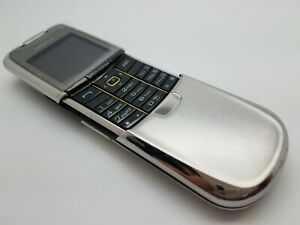 Great Condition Working Nokia 8800 - Silver (Unlocked) Mobile Slider Phone