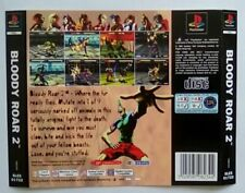***BACK INLAY ONLY*** Bloody Roar 2 Playstation One 1 PSOne PS1 PS PSX