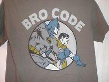 Batman/Robin T SHIRT Bro Code MEDIUM