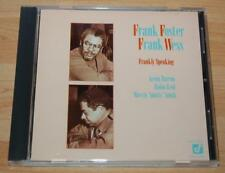 Frank Foster / Frank Wess - Frankly Speaking - 1985 Concord Jazz Japanese CD