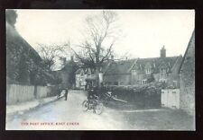 Somerset EAST COKER Post Office early motorcycle used 1908 PPC