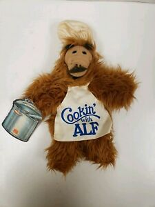 Vintage 1988 Cooking With Alf Burger King Puppet w/ Tag