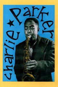 CHARLIE PARKER POSTER. A2. Jazz.