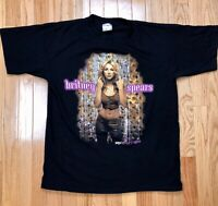 Vtg Original 2000 Britney Spears Oops I Did It Again Concert Tour T Shirt Mens L