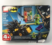 LEGO DC Universe Super Heroes Batman vs The Riddler Robbery(76137) box damaged