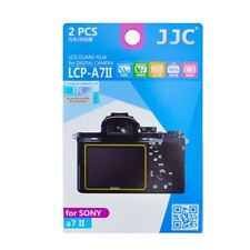 JJC LCP-A7II LCD Screen Protector Film for Sony a9,a7S II,a7R II/III,a7 II (2pc)