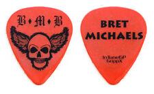 Bret Michaels Band Bret Michaels Concert-Used Guitar Pick 2011 Solo Tour Poison