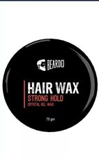 2x Beardo Strong Hold Hair Wax -75 G