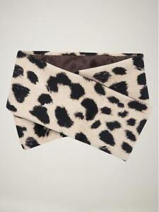 NWT New Baby Gap Girl Leopard Scarf