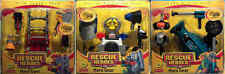 FISHER PRICE RESCUE HEROES HERO GEAR 3-PACK BUNDLE (NEW/SEALED/RARE/LOT)