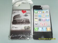 IPHONE 5G COVER RIGIDA PROTETTIVA SFONDO COLOSSEO ROMA ART.53
