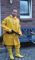 PU - Regen Jacke Mantel Schutz Bekleidung Seemann Karneval Kostüm Gr. XL - 54463