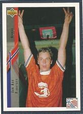UPPER DECK WORLD CUP USA 1994- #096-NORWAY & SWINDON TOWN-JAN AGE FJORTOFT
