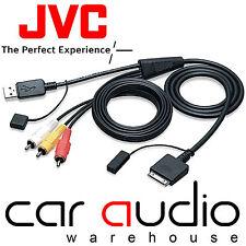 JVC KS-U30 AVX NX 2008 On Models Car iPod iPhone Direct Music & Video Cable Lead