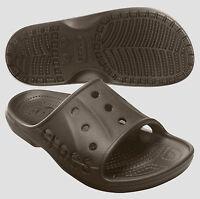 Crocs Baya Slide Espresso Brown Size 4 5 6 7 8 9 10 11 12 13