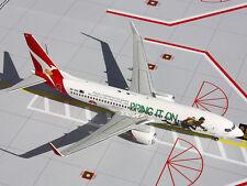 Gemini200 G2QFA439 Qantas Boeing 737-800 Bring It On REG#VH-VXG 1:200 Scale Mt