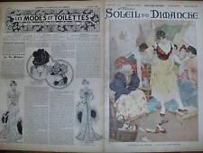 SOLEIL DU DIMANCHE 1899 N 41DESSIN : LES SOULIERS NEUFS